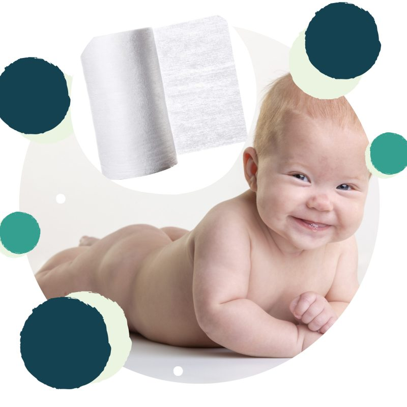 Voile biodégradable ecodiap très doux et hypoallergénique et protège bébé des érythèmes fessiers